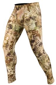 Kryptek Hoplite Zip Base Layer Bottom Highlander Camo XLarge Baselayer Pants