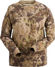 Kryptek Stalker Men's Long Sleeve Shirt Highlander Camo Medium