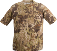 Kryptek Stalker Men's Short Sleeve T-Shirt Highlander Camo Large