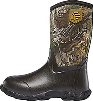 La Crosse Lil' Alpha Lite 5.0mm Boots Realtree Camo Size 4 - 1 Pair Youth Boots