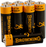 "Browning Trail Camera ""AA"" Alkaline Batteries - 8 Pack"