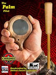 Cherokee Palm Pilot Pot Call Turkey Call