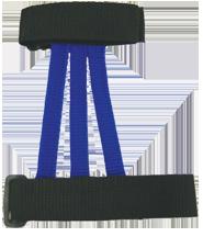 Wyandotte Adult Web Armguard Blue