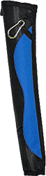 Bohning Youth Tube Quiver Royal Blue/Black