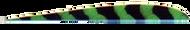 "Trueflight Green Bar 5"" RW Feathers - 100 Pieces"