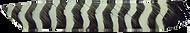 Trueflight Grey Bar Full Length RW Feathers - 100 Pieces