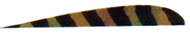 """Trueflight Green Leaf Bar 4"""" LW Feathers - 100 Pieces"""