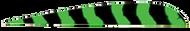 "Trueflight Flo Green Bar 4"" RW Feathers - 100 Pieces"