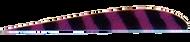 "Trueflight Purple Bar 4"" RW Feathers - 100 Pieces"
