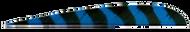 "Trueflight  Blue Bar 4"" LW Feathers - 100 Pieces"
