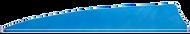 4 LW Gateway Feathers Denim Blue - 100 Pieces