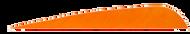 4 LW Gateway Feathers Orange - 100 Pieces