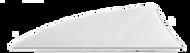 """Rayzr 2"""" RW Feathers White - 100 Pieces"""