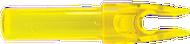 Eastman Launch Pad Precision Nock .244 Clear Yellow - 1 Dozen