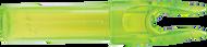 Eastman Launch Pad Precision Nock .244 Clear Green - 1 Dozen