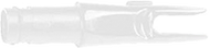 Easton 3D Super Uni Nocks White - 1 Dozen