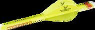 "NAP 2"" Speed Hunter Quik Fletch Yellow Vanes - 6 Pack"