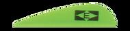 Easton Diamond Vanes 380 Bright Green - 100 Pieces