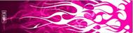 "Bohning Blazer Wrap 4"" Hot Pink Flame HD - 12 Pieces"