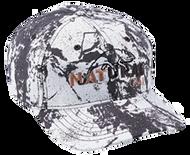 Natural Gear 6 Panel Baseball Hat Snow Camo