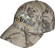 Natural Gear 6 Panel Baseball Hat Natural Camo