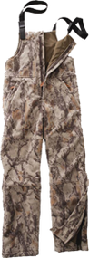 Natural Gear Fleece Windproof Bibs Natural Camo Large