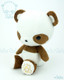 Panda Stuffed Animal Plush Toy - Caramel Brown