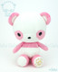 Bellzi® Cute Pink Panda Stuffed Animal Plush Toy - Pandi