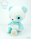 Bellzi® Cute Teal Panda Stuffed Animal Plush Toy - Pandi