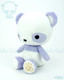 Bellzi® Cute Purple Panda Stuffed Animal Plush Toy - Pandi