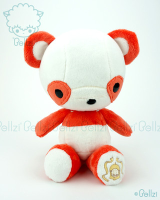 Bellzi® Cute Orange Panda Stuffed Animal Plush Toy - Pandi