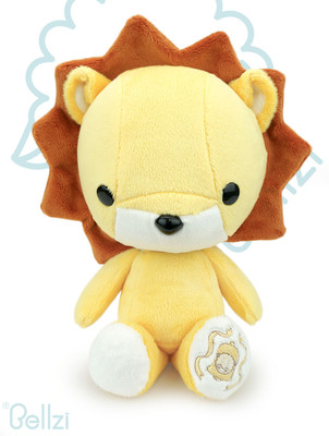 Cute Bellzi Lion Stuffed Animal Plush Toy