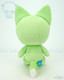 Bellzi® Cute Lime Green Fox Stuffed Animal Plush Toy - Foxxi