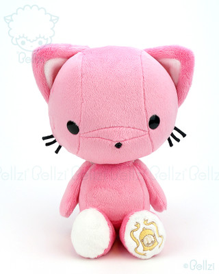 Bellzi® Cute Paris Pink Kitty Cat Stuffed Animal Plush Toy - Kitti