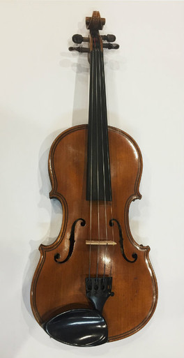German made violin 1890's Full frontal