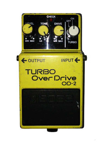 Boss OD2 Japanese Made Turbo Overdrive Pedal
