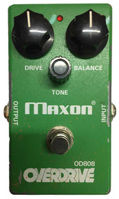 Maxon OD808 Guitar Overdrive Pedal