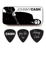 Johnny Cash Pick tin and 5 Picks