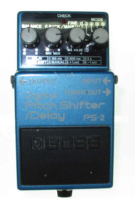 Boss Digital Pitch Shifter Delay PS2