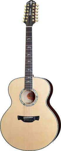 Crafter J 30-12/N 12 String Semi Acoustic Jumbo Body