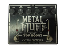 EHX Metal Muff with Top Boost USA Made