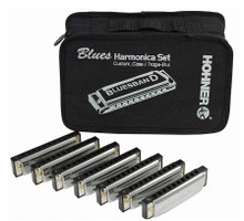 Hohner Blues band set of 7 harmonicas