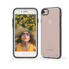 Puregear slim shell for iphone X clear-black
