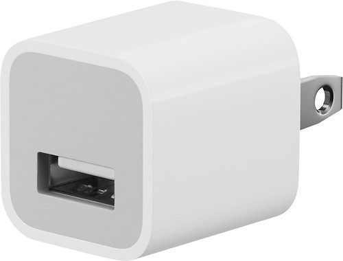 Cube  usb 1 amp travel charger adapter assorted colors