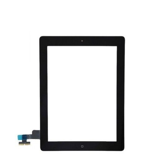 iPad 2 Complete Digitizer with Adesive & Home Button Flex Black
