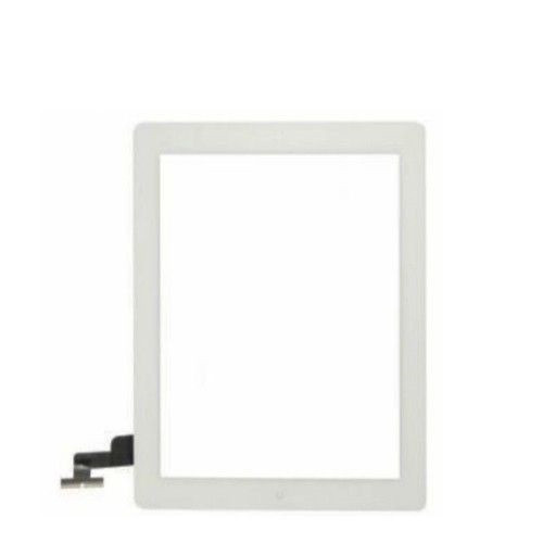 iPad 2 Complete Digitizer with Adesive & Home Button Flex White
