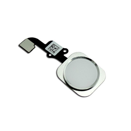 iPhone 6 Home Button with Flex White