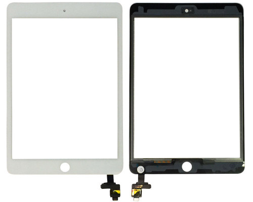 iPad Mini 3rd Digitizer W/Circuit Board White
