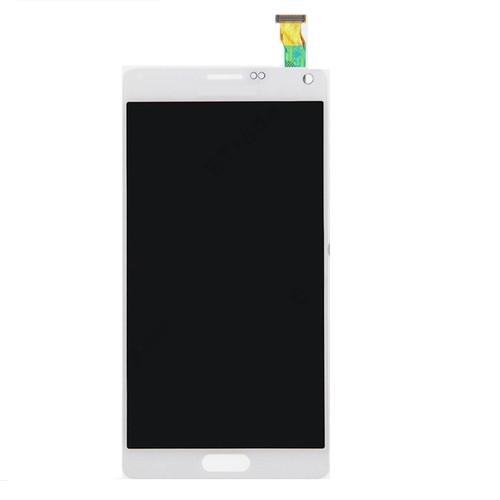 Samsung Galaxy Note4 N910 Lcd W/Digitizer White