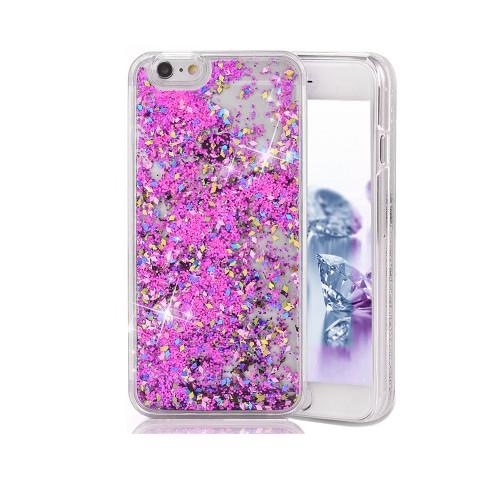 Liquid Glitter TPU Case for Samsung Galaxy J7 Pink